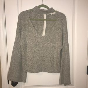 Nasty Gal sweater (English factory)